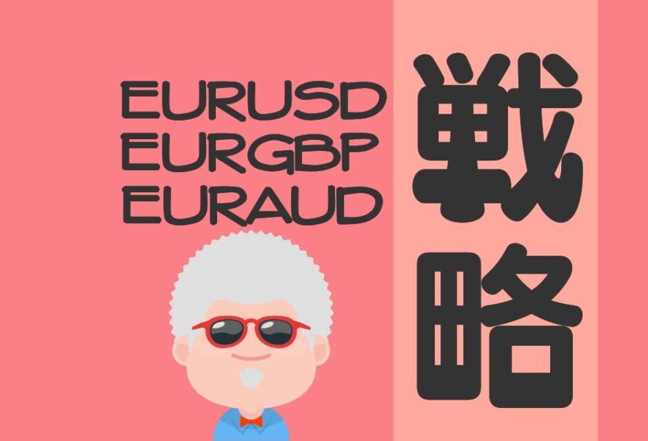 FX 見通し 戦略 EURUSD EURGBP EURAUD