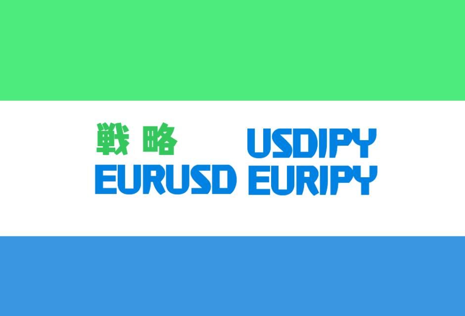 FX戦略EURJPY、EURUSD、USDJPY