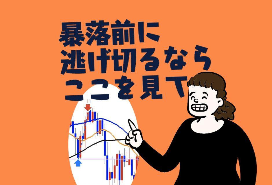 FXでも仮想通貨でも株でも暴落する前に逃げ切るならここをみて