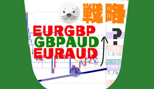 【戦略】転換点到来!数百pipsの値幅で勝負できるチャンスです|EURGBP,EURAUD,GBPAUD
