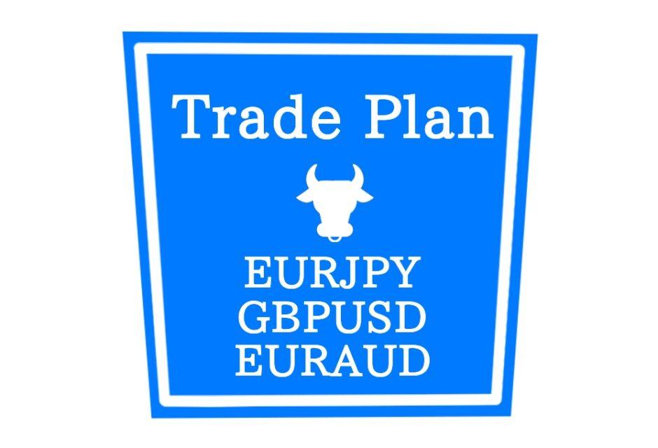 トレード戦略 EURJPY GBPUSD EURAUD